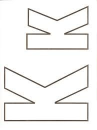 letra k para imprimir - Pesquisa Google