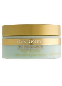 Champneys Foot Butter - Champneys Spa. Luxury Products. Beautiful Fragrances.