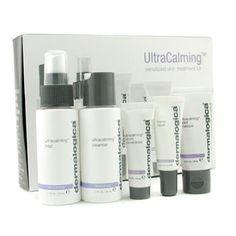 Dermalogica UltraCalming Sensitized Skin Treatment Kit: Cleanser + Mist + Masque + Concentrate + Barrier Repair  5pcs-au.strawberrynet.com
