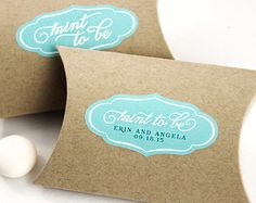 48 Custom Stickers personalized wedding favor by WishDesignStudio