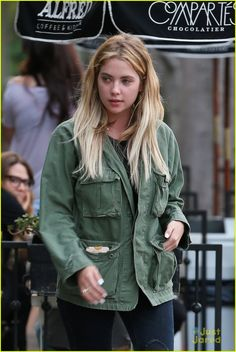 Ashley Benson Gets Motorcycle Ride From Keegan Allen: Photo #937143. Keegan Allen slides onto his motorcycle with Ashley Benson on the back in Los Angeles on Thursday afternoon (March 3). The two Pretty Little Liars actors were…