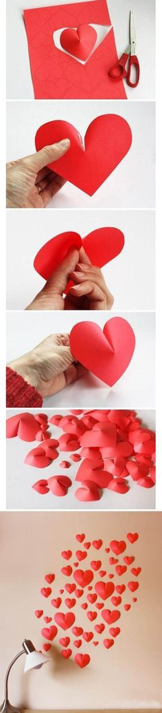 Nice Heart-shaped Decoration | Click to see More DIY & Crafts Tutorials on Our Site.