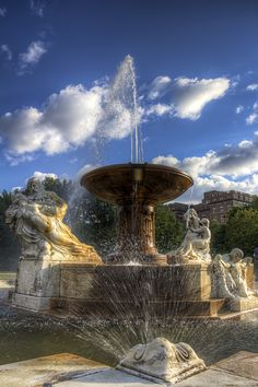 Water Fountain - Cleveland, Ohio