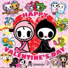 Tokidoki Unicorno Sakura | tokidoki wishes everyone a Happy Valentine's Day filled with lots of ...