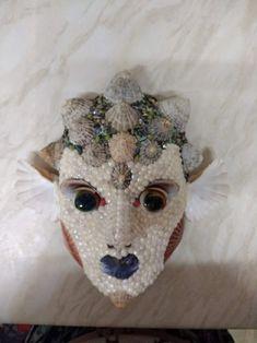 deep sea water sprite venetian mask Deep Sea, Venetian, Wreaths, Halloween, Water, Decor, Gripe Water, Decoration, Door Wreaths