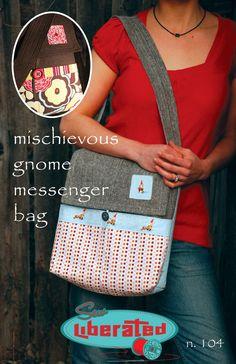 Messenger Bag Sewing Pattern