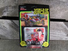 Jimmy Carr #65, Racing Champions, World Of Outlaws, Sprint Cars 1993, 1/64 Scale Die Cast Model Car, 1st Series, Collectible Toys by TheStorageChest on Etsy