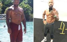 This Guy Lost Nearly 60 Pounds and Transformed His Gut Into a Six Pack imageimage Six Pack Men, Get A Six Pack, Abs Workout For Women, Healthy Exercise, Thigh Exercises, Six Packs, Weight Loss Transformation, Best Weight Loss, Fitness Goals