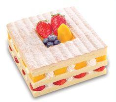 Dream of fresh fruit. Saint Honore Cake Shop.