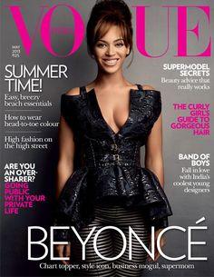 International Love: Beyoncé Covers 'Vogue India'