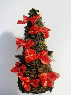 Ideas art for everyone, DIY - Joanna Wajdenfeld: Fluffy Fleece christmastree- without glue