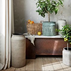 Spring is in the air – Broste copenhagen 2020 ‹ Dansk inredning och design Spa Center, Broste Copenhagen, Window Sill, Green Plants, Scandinavian Design, Interior Inspiration, Style Inspiration, Terracotta, Flower Pots
