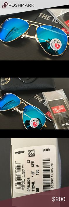 New RayBan Aviators Model: RB3025 112/4L polarized. Brand new. Gift that's don't want. Ray-Ban Accessories Sunglasses
