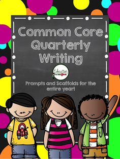 Education to the Core: Common Core Quarterly Writing For First Grade $