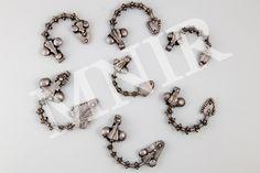Cufflinks, Charmed, Bracelets, Accessories, Jewelry, Bangles, Jewellery Making, Jewels, Jewlery