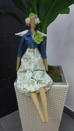 Tilda Angel de jardin