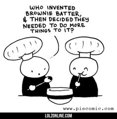 Who Invented Brownie Batter#funny #lol #lolzonline