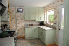 Sage green kitchen by Grand Design Services - 01472 250390