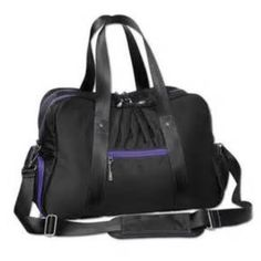 Athleta Warm Up Gym Bag Brand New If you're looking for a stylish gym bag, this is a good option. The two main zip compartments keep clean clothes and dirty clothes separated. There's a shoe compartment for your sneakers and shower shoes. Store your keys, phone or tablet in the internal pocket. The bag is big enough for your gym necessities and small enough to fit perfectly in gym lockers. Athleta Bags Totes
