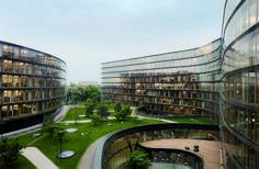 Erste Campus Headquarters Building Vienna - e-architect Window Handles, Residential Complex, Timeless Elegance, Atrium, Vienna, Rooftop, Golf Courses, The Unit, Mansions