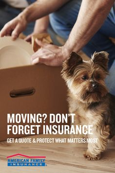 Whether you're relocating or just moving down the block, your moving checklist is probably a mile long. But we've got one more thing you should add – insurance! Connect with an agent and provide a few details about yourself to get a quote today. They'll help you protect what matters most.