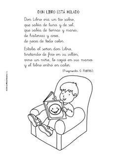 Poemas Infantiles Para Ninos Primaria -  Formato listo para imprimir.