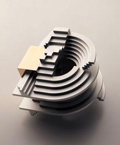 Takenobu Igarashi -1992 Sculpture for Domus Magazine