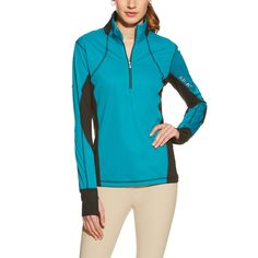Ariat Womens Bryce Pullover Large Lagoon. Cold Series|Stain Repellant|Wind and Water Resistant. Ariattek.