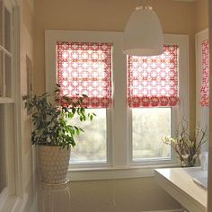 Create Gorgeous, Custom Roman Blinds (Without Sewing!): Roman shades are a great, tailored alternative to curtains.