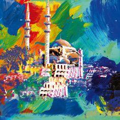 Istanbul Art Print| By Robert Holzach