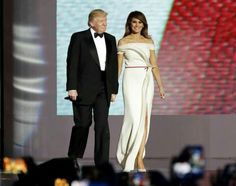 President Donald J. Trump and First Lady Melania Trump.....January 20, 2017