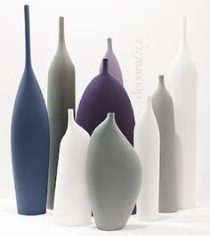 kose italy, ceramic bottle forms.