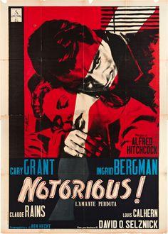 Notorious (1960). Italian poster