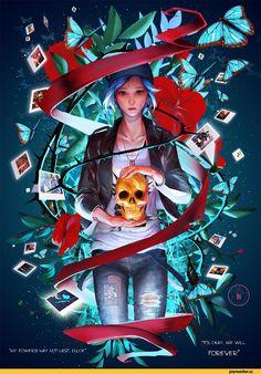Life is Strange,Игры,Игровой арт,game art,Chloe Price