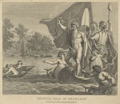Ticket for the Regatta Ball at Ranelagh, 1775. Francesco Bartolozzi.