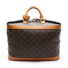 Louis Vuitton Cruiser Bag 40 Monogram Luggage Brown Canvas M41139