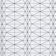 Tissu coton épais imprimé losange géométrique