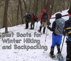 The Best Boots for Winter Hiking | Section Hikers Backpacking Blog