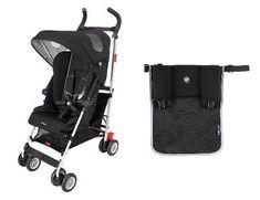 Maclaren BMW Stroller WITH Oganiser (Black) - http://babystrollers.everythingreviews.net/4193/maclaren-bmw-stroller-with-oganiser-black.html
