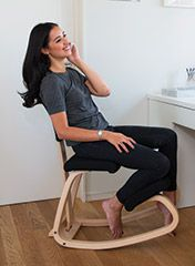 The variable keeling posture chair | Stunning design and comfort | Back In Action.