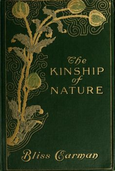 Book cover. The Kinship of Nature. 1913.