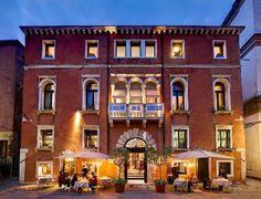 ... and, when in Venice, you won't find a better hotel than Ca Pisani