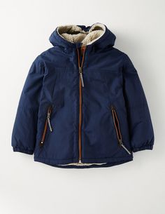 Sherpa Lined Anorak 25113 Jackets at Boden