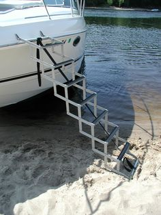 1000 Images About Pontoon Boat Ladders On Pinterest