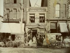Dughi Store, 235 Fayetteville Street, Raleigh, NC, 1895