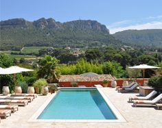Pool at Maison 9 in Cassis, France. So. Relaxing.