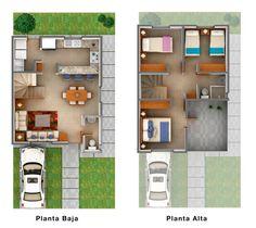 plantas arquitectonicas en terreno 6 x 16 - Pesquisa Google