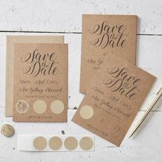 Des idées pour un Save The Date original - Save The Deco Carton Invitation, Invitations, Save The Date Cards, Perfect Wedding, Getting Married, Wedding Planning, Paper Crafts, Dating, Tahiti