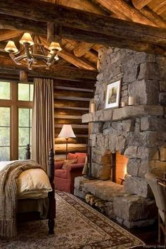 62 rustic log cabin homes design ideas