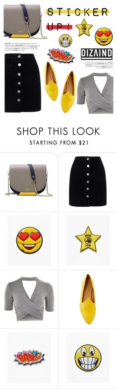 DIZAIND BAGS: New Contest! by helenevlacho on Polyvore featuring Topshop, Miss Selfridge, Le Monde Beryl, contest, stickers and dizaind
